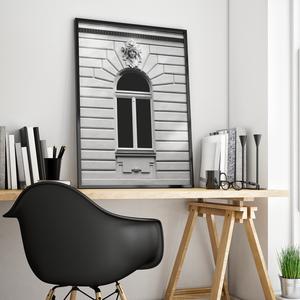 \'Pesti ablak\' poszter - skandináv stílusú, fekete-fehér, minimalista poszter nagy méretben / 50 x 70 cm, Otthon & lakás, Dekoráció, Kép, Lakberendezés, Falikép, Képzőművészet, Fotográfia, Fotó, grafika, rajz, illusztráció, \'Pesti ablak\' poszter - skandináv stílusú, fekete-fehér poszter nagy méretben / 50 x 70 cm\n\nEgyedi, ..., Meska