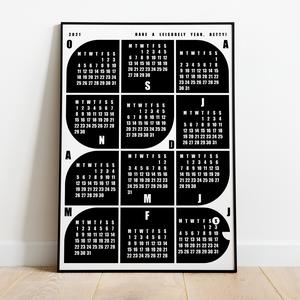 Naptár gyerekeknek / \'Csiga\' / skandináv stílusú, minimalista fali naptár, Otthon & Lakás, Dekoráció, Falinaptár & Öröknaptár, Fotó, grafika, rajz, illusztráció, Naptár gyerekeknek a 2021-es évre / \'Csiga\' / skandináv stílusú, minimalista fali naptár\n\nSaját terv..., Meska