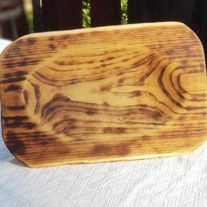 Égetett mintájú sajttál kézműves fatál egyedi kínáló fatál előételhez (Plasticineworld80) - Meska.hu
