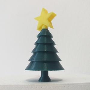Mini Karácsonyfa, Otthon & lakás, Dekoráció, Ünnepi dekoráció, Karácsony, Karácsonyi dekoráció, Ajándékkísérő, Lakberendezés, Asztaldísz, Mindenmás, Adventi kalendáriumba, lakásdekorációként, asztaldísznek vagy akár ajándékkísérőként is megfelelő ez..., Meska