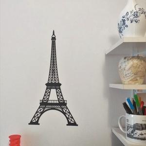 Falmatrica - Eiffel-torony, Otthon & lakás, Dekoráció, Falmatrica, Egyéb, Lakberendezés, Falikép, Fotó, grafika, rajz, illusztráció, Mindenmás, Egyszerű, látványos dekoráció. Rugalmas, vastag műanyagból készült, könnyen levehető és újra felhasz..., Meska