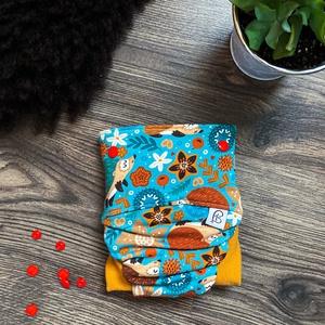 Csónakos mosható pelenka, Ruha & Divat, Babaruha & Gyerekruha, Varrás, A csónakos mosható pelenka áll egy dekor külső részből, és egy PUL-ból vagy egy gyapjú anyagból kész..., Meska