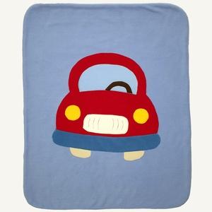Piros autós takaró kék alapon, Gyerek & játék, Otthon & lakás, Gyerekszoba, Falvédő, takaró, Baba-mama kellék, Lakberendezés, Lakástextil, Takaró, ágytakaró, Ezt a kisméretű takarót babák számára alkottam. Remekül használható kiságyban, gyerekkocsiban is. Bo..., Meska