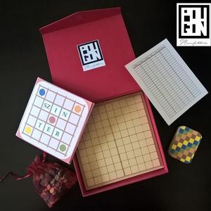 Színtér - Tabula rasa 10×10, Játék, Gyerek & játék, Társasjáték, Fotó, grafika, rajz, illusztráció, Gyurma, Játékleírás\n\nA játék színtere egy 10×10-es négyzetrácsos tábla. A játék során a játékosok függőleges..., Meska