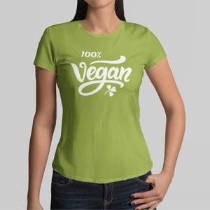 100% Vegan feliratú női póló, Ruha & Divat, Női ruha, Póló, felső, Mindenmás, Kedvenc pólójában Ön úgy lehet divatos, hogy közben nem kell lemondania a kényelemről sem. A póló ki..., Meska