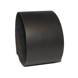 Minimal Black - Fekete bőr karkötő - 3,5 cm - Antikolt patentos, Széles karkötő, Karkötő, Ékszer, Bőrművesség, Ékszerkészítés, Fekete marhabőrből készült, antikolt patenttal zárható 5 cm széles karkötő.\n\n* Bőr vastagsága: ~2 mm..., Meska