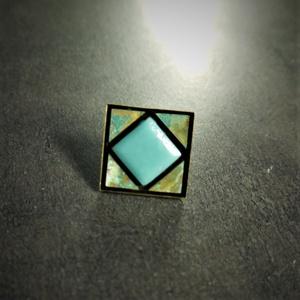 Patinázott rézmozaik gyűrű - INGYEN POSTA, Ékszer, Gyűrű, Ékszerkészítés, Mozaik, Patinázott rézmozaikból és üvegmozaikbók kézzel készült gyűrű (2,5x2,5 cm)\n\n\nTermékeim között találs..., Meska