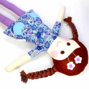 Lány Baba Rongybaba Játékbaba  Textiljáték Lotti, Játék & Gyerek, Baba & babaház, Baba, Boltomban mindent természetes eredetű, részben pedig újrahasznosított vagy organikus alapanyagokból ..., Meska