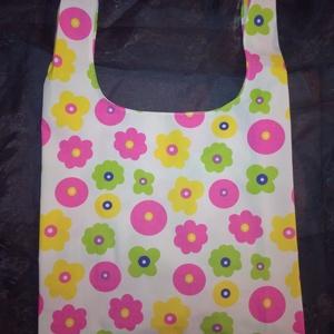 Poppi bevásárló táska (a szatyor helyett) by PoppyTime, Táska, Táska, Divat & Szépség, Szatyor, NoWaste, Varrás, Poppi bevásárló táksa a neylon szatyor képmására tervezve 100% pamutból.\nEgyszerű, mégis nagyszerű t..., Meska