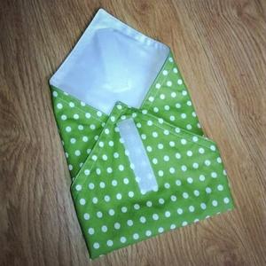 Frissentartó szalvéta - újraszalvéta (by PoppiTime), Konyhafelszerelés, Otthon & lakás, NoWaste, Varrás, Többször használható, \nkönnyen tisztítható, \nbelső részét nedves ruhával letörölhető, szendvics mére..., Meska