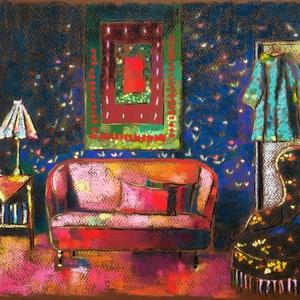 FÉLÁRON A KÉPEK - A kép alatt már a kedvezményes ár látható. Tea előtt, Otthon & lakás, Képzőművészet, Festmény, Pasztell, Festészet, Fotó, grafika, rajz, illusztráció, pasztell festmény\n30x40 cm, Meska