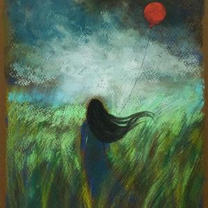 MŰTEREMSÖPRÉS:) Kis rajz..., Művészet, Festmény, Pasztell, Festészet, Fotó, grafika, rajz, illusztráció, pasztell festmény\n29.7x21 cm, Meska