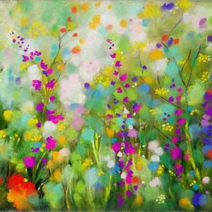 Nyár, Művészet, Festmény, Pasztell, Festészet, Fotó, grafika, rajz, illusztráció, pasztell festmény\n30x42 cm\nÉlőben még szebb:) rengeteg finom árnylat & eléggé tárhatású, az élénk vi..., Meska