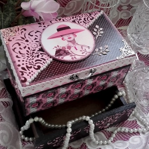 elegáns ékszeres doboz (pozsgigi) - Meska.hu