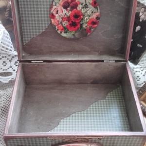 pipacsok közt - nosztalgia doboz  (pozsgigi) - Meska.hu