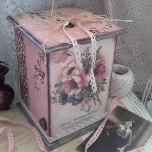 egy csokor virág - nosztalgia doboz (pozsgigi) - Meska.hu
