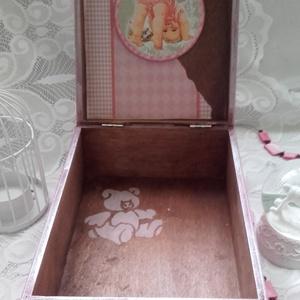 kislányos babadoboz (pozsgigi) - Meska.hu