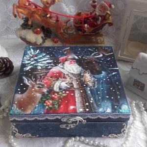 Indul a Mikulás - karácsonyi nosztalgia doboz (pozsgigi) - Meska.hu