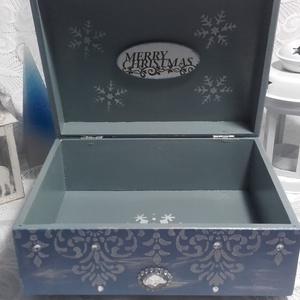 fenyőfavásár - karácsonyi nosztalgia doboz (pozsgigi) - Meska.hu
