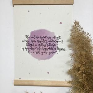 Kis herceg print / nyomat, Otthon & Lakás, Dekoráció, Kép & Falikép, Fotó, grafika, rajz, illusztráció, A/4-es és A/5-ös printek, a Kis herceg csodálatos szavaival, 300 grammos, 100%-ban újrahasznosított ..., Meska