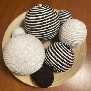 Gömbdekoráció, Otthon & Lakás, Dekoráció, Dísztárgy, Mindenmás, A lakás dekorációhoz alkalomtól függetlenül használhatóak ezek a dekoratív gömbök. Csokorban, egymás..., Meska