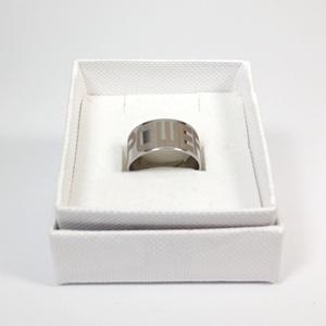 Nemesacél gravírozott gyűrű - power (prying) - Meska.hu