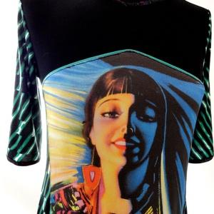 'Juanita' zsebes ruha (psycat) - Meska.hu