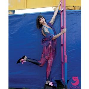 'Pikkelymasni' printelt leggings (psycat) - Meska.hu