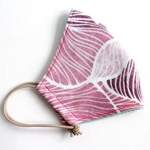 Szájmaszk - mosható, többször használható, Maszk, Arcmaszk, Női,   Egyedi készítésű 2 rétegű, mosható és vasalható szájmaszk.  A maszk két rétegből áll. Egy külső me..., Meska
