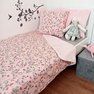 Kislány takaró párnahuzattal pillangók rózsaszín, Otthon & Lakás, Lakástextil, Ágynemű, Varrás, Ez a szett olyan menő, hogy minden gyerkőc ilyet szeretne magának!\n HUZATNÉLKÜL HASZNÁLHATÓ!\nA Pukka..., Meska