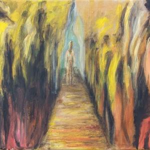 Akrilfestmény, Képzőművészet, Otthon & lakás, Festmény, Akril, Lakberendezés, Festészet, Akril festmény, feszített vászonra készítve\n\nKERETEZÉST NEM IGÉNYEL! RÖGTÖN FALRA AKASZTHATÓ!\n\n\nMére..., Meska