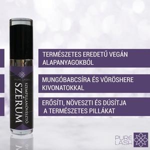 szempillanövesztő szérum, Szépségápolás, Arcápolás, Szemkörnyékápolás, Kozmetikum készítés, A PURE LASH egy 2019-ben alapított szempillaápolásra specializálódott magyar márka. Jelenlegi termék..., Meska