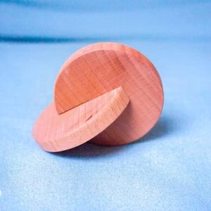 Montessori Interlocking dics, Gyerek & játék, Játék, Baba játék, Fajáték, Famegmunkálás, Az interlocking discs Maria Montessori módszere alapján készült. A gyerek első multifunkcionális esz..., Meska