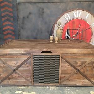 Láda/Dohányzóasztal 4 (PuritanSteel) - Meska.hu