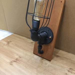 004 – Wallcog - fali lámpa (PipeArt) - Meska.hu
