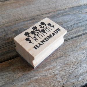 HANDMADE fa nyomda, Papír, Scrapbook, HANDMADE nyomda    Nyomda mérete: 4 x 2 x 2,5cm  Gumi fejjel  Kapható boltomban hozzá tintapárna   S..., Meska