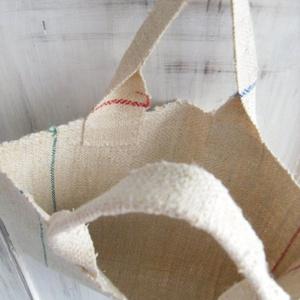 Organikus natúr zsákvászon szennyes táska bevásárló táska (rampampuli) - Meska.hu