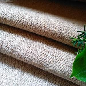 Antik organikus natúr kender zsákvászon méterre (gr067), Textil, Vászon, Természetes alapú kender zsákvászon (GR067)  Több mint 100 éves anyag. Szélessége: 54cm Kiváló táska..., Meska