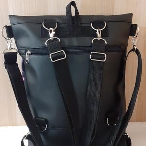 3 pántos táska/hátizsák mandala hímzéssel - táska & tok - variálható táska - Meska.hu