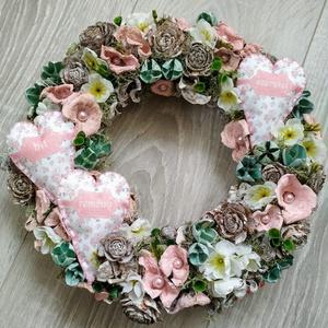 Tavaszi ajtódísz, kopogtató (Rebekalkotomuhelye) - Meska.hu