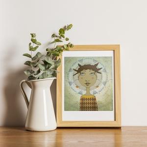 TÜNDÉRES illusztrációk, Művészet, Grafika & Illusztráció, Fotó, grafika, rajz, illusztráció, Meska