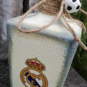 Transzferált focis italos üveg. :-) - Meska.hu