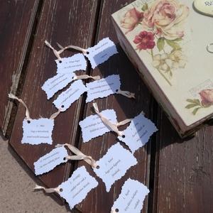 12 rekeszes ajándékátadó doboz esküvőre, fotótranszferrel. :-) (Regikislany) - Meska.hu