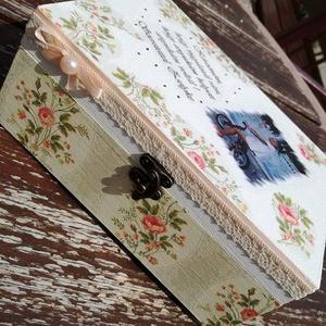 Teás doboz, fényképes-feliratos. :-) - Meska.hu