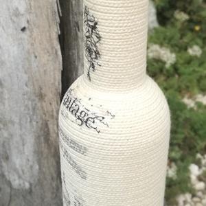 Zsinóros Vintage italos üveg, finom nedűnek, vagány csajoknak! :-) - Meska.hu