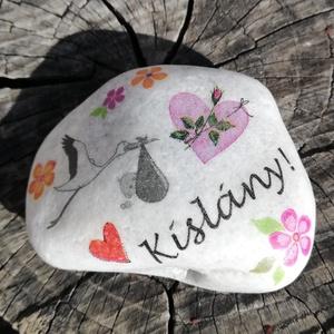 Kislány vagy kisfiú?...Transzferált kövek. :-) - Meska.hu