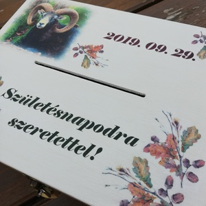 Vadászoknak-Nagyméretű lezárható pénzgyűjtő persely. :-) - Meska.hu