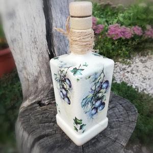 Italos üveg 70. szülinapra. :-) - Meska.hu