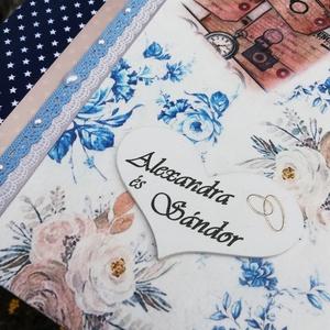A nyomozó-pár esküvői fotóalbuma.  :-) - Meska.hu