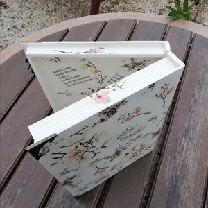 Az Óvónéni ajándéka. Nagyméretű, könyv formájú, egyedi díszdoboz ovis ballagásra, :-) - RENDELHETŐ - Meska.hu